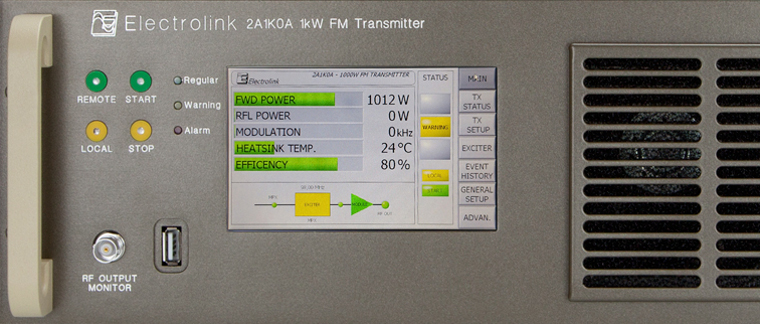DIGITAL FM TRANSMITTERS